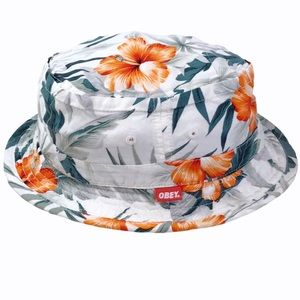 """Obey Tropical Soft Cotton """"Uplands"""" Bucket Hat"""